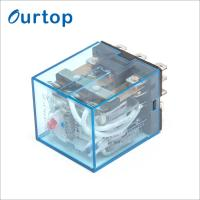 Quality High Sensitive Electromagnetic Industrial Relay , Electrical Mechanical Relay for sale