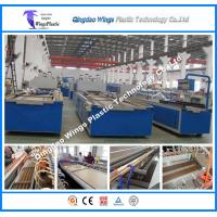 Quality Lightweight WPC Profile Extrusion Line for Decking Wood Plastic Composite Machine for sale