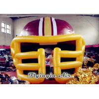Inflatable Baseball Helmet Tunnel, Inflatable Football Helmet Tunnel, Inflatable Sprot Tunnel