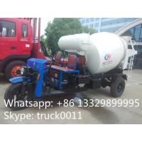 Quality 1.5cbm 3 wheels mixer truck for sale for sale