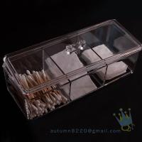 Quality acrylic makeup organizer tray for sale