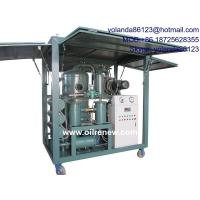 China Series ZYD-M Mobile Vacuum Transformer Oil Purifier, Oil filtration system, oil dehydration system on sale