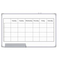 Quality Office Magnetic Planning Board , Monthly Wall Planner Whiteboard for sale