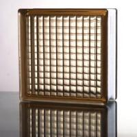Quality Parallel Brown Glass Block for sale