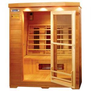 China Wooden Far Infrared Sauna Room(hemlock dry sauna house) on sale