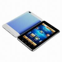 7-inch Capacitive Android Tablet PCs, Multi-touch Screen with Dual-SIM, Dual-standby, Built-in GPS