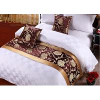Quality Hotel Decorative Linens Jacquard Bedding Set 100% Polyester Queen for sale
