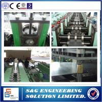 Quality Automatic Hydraulic Cable Tray Roll Forming Machine Chinese / English Lanugage System for sale