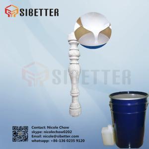 China Cheap Price Liquid RTV Raw Materials Silicone Rubber for Concrete Molding on sale