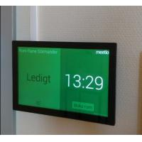 China 10 Inch LED Light Indicator 10-points IPS Touch Panel Glass Wall Mount Android PoE Meeting Room Tablet PC on sale