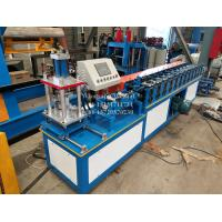 Buy cheap Steel aluminium roller shutter door slat forming machine with hydraulic cutting from wholesalers