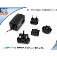 Quality 60950 60065 61558 Standard Black 9V 1A Universal AC DC Adapters for sale