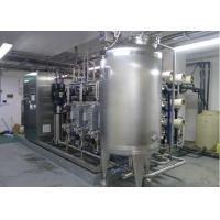 China Ultra pure water reverse osmosis water purification system with EDI for WFI 15m3/h on sale