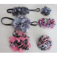 Buy cheap Gauze Flower Elastic Headwrap 2A0016 from wholesalers