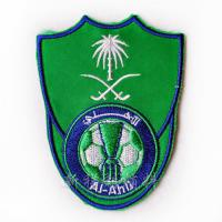 Clothing Custom Embroidered Iron On Patches , Embroidered Cloth Badges