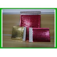 Buy cheap Bespoke Shiny Printed Aluminum Foil Bubble Bags For Fragile Products from wholesalers