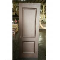 Buy cheap Luxury Style Two Panel MDF Wood Doors Customized Handle For Apartment / Hotel from wholesalers