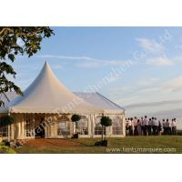 Quality Decorated Luxury Wedding Tents Marquee With Noble / Gorgeous Linings for sale