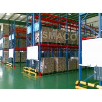 Quality High Density OEM Warehouse Pallet Racking System Versatile / Customized Industrial Storage Rack Systems for sale