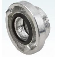 Quality ISO9001 Storz Fire Hose Coupling 16 bar pressure with female thread for sale