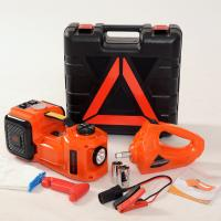 Buy cheap hot sale portable emergency tool electric jack with impact wrench and air from wholesalers