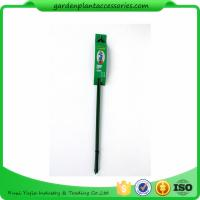 Quality Triangle Plastic Coated Steel Plant Support Stakes / Green Garden Stakes *D7 X 600mm 33*10*77 for sale