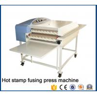 China New type Automatic multi-function correct edge garment fusing fabric press machine for all fabric factory22B on sale
