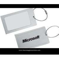 Quality Promotion and Advertising High Grade quality gift of personalized aluminum luggage tags for sale