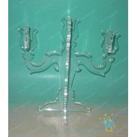 Quality CH (31) small clear Acrylic candle holder for sale
