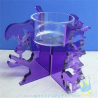 Quality CH (19) tapered Acrylic candle holder for sale