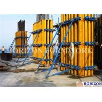 China Rectangular Wall Formwork Combined with Wooden Girder H20 and Steel Walings on sale