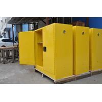 Quality Grounding Flammable Storage Cabinets With Double Shelf For Dangerous Goods for sale