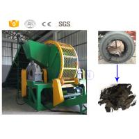 Quality High Capacity Scrap Rubber Tires Recycling Machine For Rubbers Recycling Industry for sale