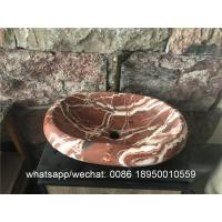 Rosa Corral Marble Sinks Stone Wash Basin for sale