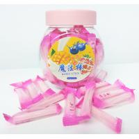 Quality Pink Magic Stick Healthy Hard Candy , 4g Strawberry Hard Candy for sale