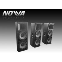 China Powered Conference Hall Sound System 37 Hz-20 KHz With Birch Plywood on sale