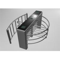 Quality Unique Two Way Anti Reverse Stainless Steel Turnstile / Turn Style Door for sale