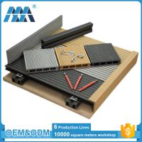 China factory waterproof balcony flooring wood plastic composite decking tiles on sale