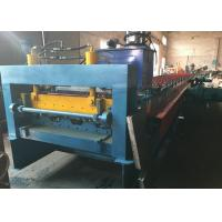 Quality 8m/min - 12m/min Floor Deck Roll Forming Machine For structure Conceret for sale
