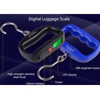 Quality High Strength Belt Digital Luggage Weighing Scale With Value Lock Function for sale