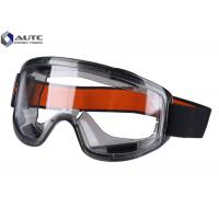 Quality Clear Lab Safety Goggles Full Protection Spectacles Large Transparent View Window for sale