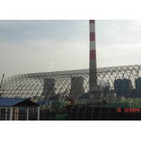 China Prefabricated Steel Space Frame Structures / Architecture Chemical Plant Coal Shed on sale