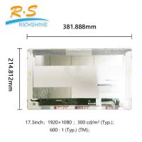 "Buy cheap 17.3"" eDP 30 Pins TTF Laptop LCD Display module notebook screen from wholesalers"