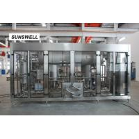 Quality CSD Beverage Making Machine With 16C Filling Technology For Big Capacity Sparkling Water for sale
