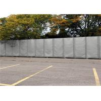 "Quality Mobile Noise Barriers 40dB noise reduction 48' x 144"" for construction fence panels customized the size for sale"
