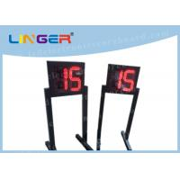 Quality Customized LED Digital Clock / Shot Clock Timer With 1m Height Stand for sale