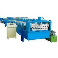 Buy Customized Metal Roof / Wall Cold Roll Forming Machinery With SGS certificate at wholesale prices