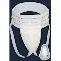 Quality White Color Men ' S Athletic Supporter , Male Athletic Supporter With Flex Shield Cup for sale