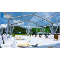 10X15M Transparent Event Tent with Clear Top Cover for high end Golf Event for sale