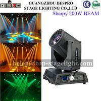 Buy cheap Philips lamp 5r 200w Beam Moving Head from wholesalers
